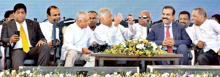 Mahinda's billions invested in Horana MARA-goni Tyre factory 531