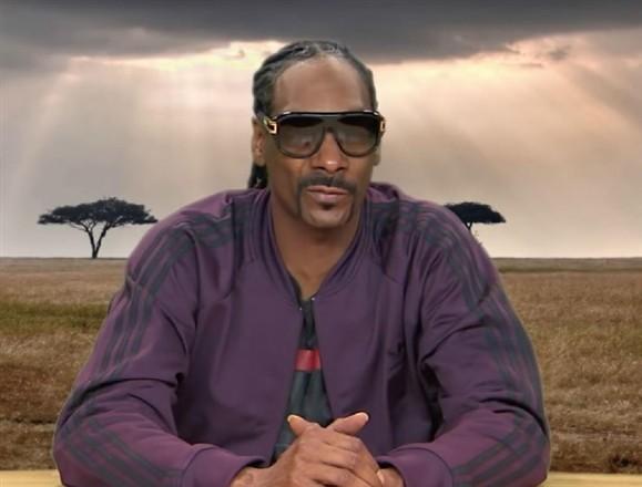 Adeus Attenborough? Milhares querem Snoop como narrador da vida selvagem Ng5812115