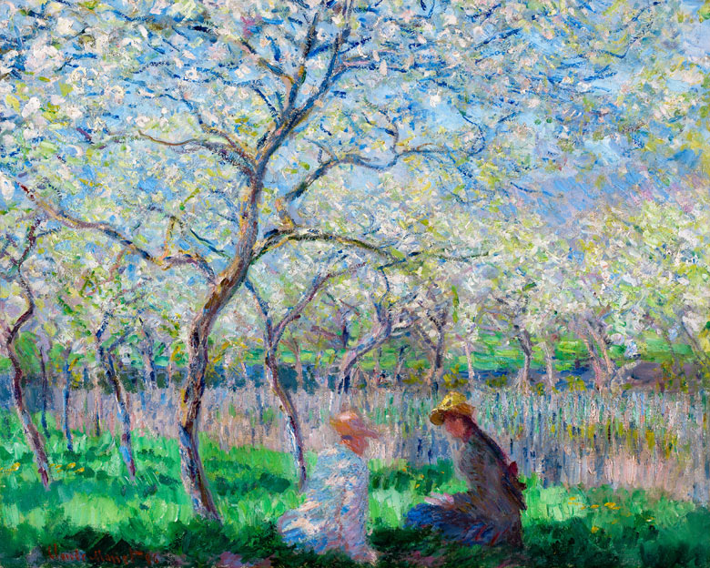 Spring in the air! Time to think about the garden. - Page 3 Claude-Monets-Le-Printemp-002