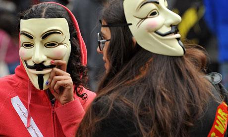 V for Vendetta Protesters-in-Guy-Fawkes--006
