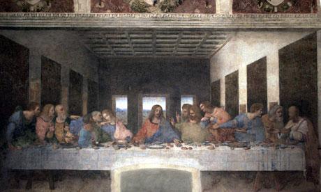 Leonardo, the Turin Shroud and the Mona Lisa The-Last-Supper-by-Leonar-007