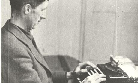 George Orwell George-Orwell-at-Work-006