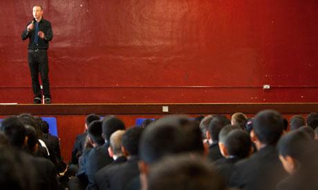 Teachers use hip-hop to teach poetry Sam-Berkson-teacherperfor-006