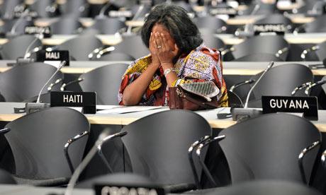 La Grande Arnaque du Réchauffement Climatique  COP15-A-Haitian-delegatio-001