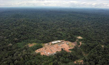 Etat d'urgence dans la forêt péruvienne MDG--Peru--An-aerial-view-008