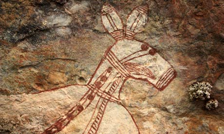 The Mystical Discoveries of the Aboriginal Rock Art of Australia Australia-aboriginal-art--008
