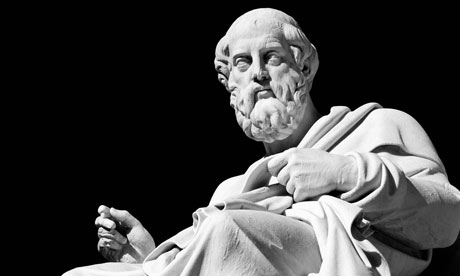 Philosophy is supposed to be difficult Marble-statue-of-Plato--007