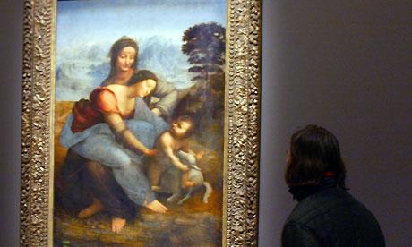 Leonardo, the Turin Shroud and the Mona Lisa La-vierge-lEnfant-J-sus-e-007