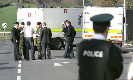 Catholic Police officer dead after booby-trap bomb explodes under car in Omagh - 2 men arrested Bomb-Omagh-007