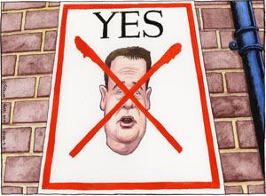 Cartoonist Steve Bell Steve-Bell-Nick-Clegg-201-001