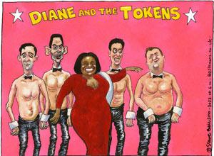 Cartoonist Steve Bell Steve-Bell-Diane-Abbott-2-001