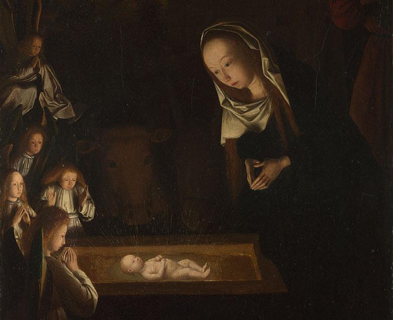 Nativity Scenes The-Nativity-at-Night-by--001