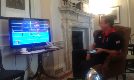 Will Boris Johnson lead the Tories into the next general election? - Page 2 David-Cameron-watching-th-008