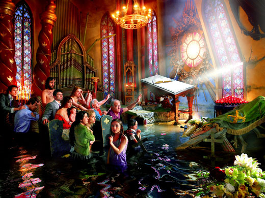 David LaChapelle ....... eccentrico ..... geniale Gallery-David-LaChapelle--001