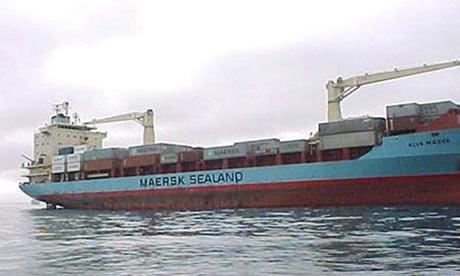Haïti refuse un cargo d'aide alimentaire mexicaine The-Maersk-Alabama-cargo--001