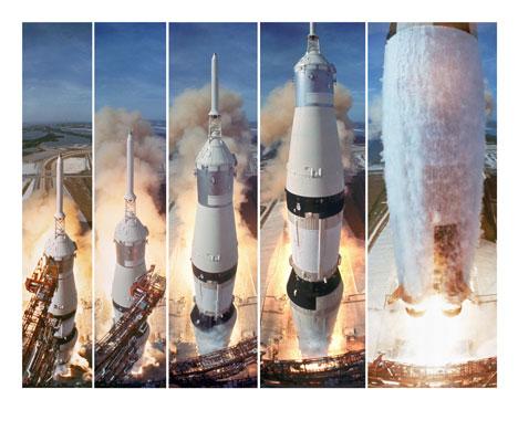 História- fotos da conquista da lua ,memoráveis!!!!!!!!!  Apollo-11-to-the-Moon-Com-016