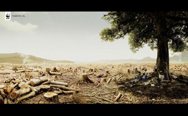 Imagenes para concientizar sobre la naturaleza  Adverts-for-the-environme-005