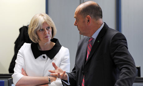 Child online safety chief Jim Gamble to leave next month Theresa-May-and-Jim-Gambl-006
