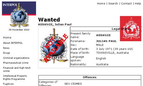 Etonnant : Rien sur WIKILEAKS ici ? - Page 3 Interpol-poster-for-Julia-006