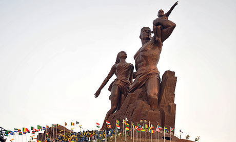 North Korea builds giant statue in Senegal - HUH ? Senegals-African-Renaissa-001