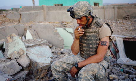 Wikileaks as Backchannel Distributor US-soldier-in-Afghanistan-006