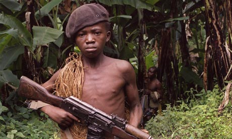 Are humans less violent than they used to be? Zaire-child-soldier-007