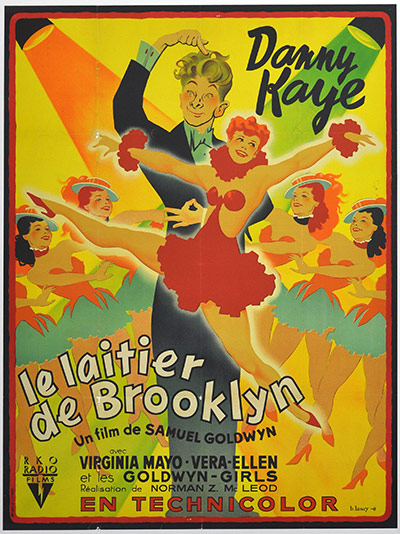Vintage movie musicals posters The-Kid-From-Brooklyn-pos-003