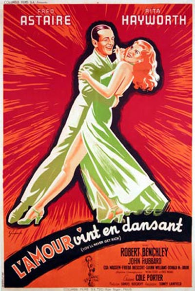Vintage movie musicals posters Youll-Never-Get-Rich-post-004
