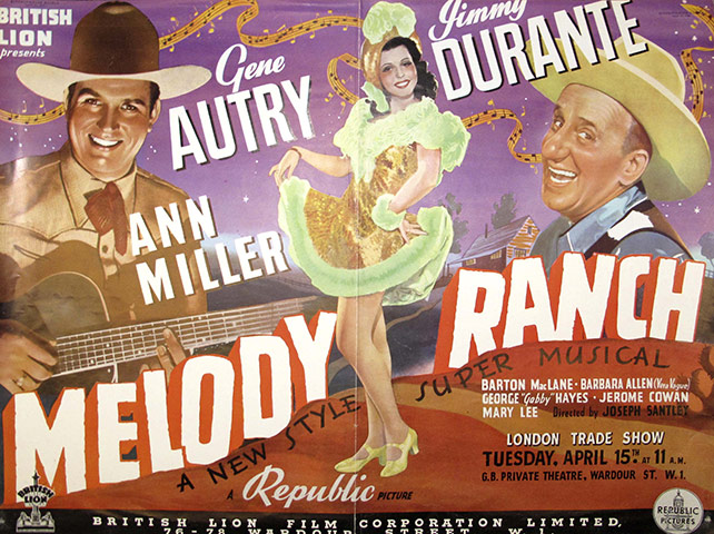 Vintage movie musicals posters Melody-Ranch-poster-006