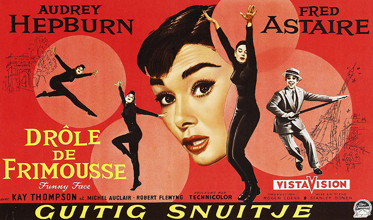 Vintage movie musicals posters Funny-Face-poster-008