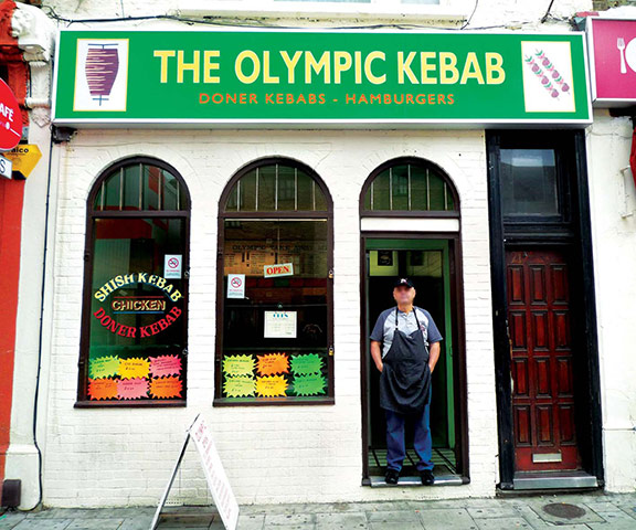 Iain Sinclair: London 2012 Olympics development project provokes Welsh psychogeographer's rage Olympic-Kebab-001