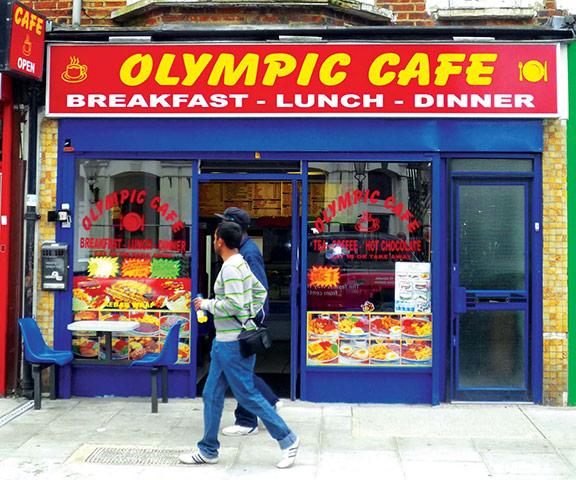 Iain Sinclair: London 2012 Olympics development project provokes Welsh psychogeographer's rage Olympic-Cafe-002