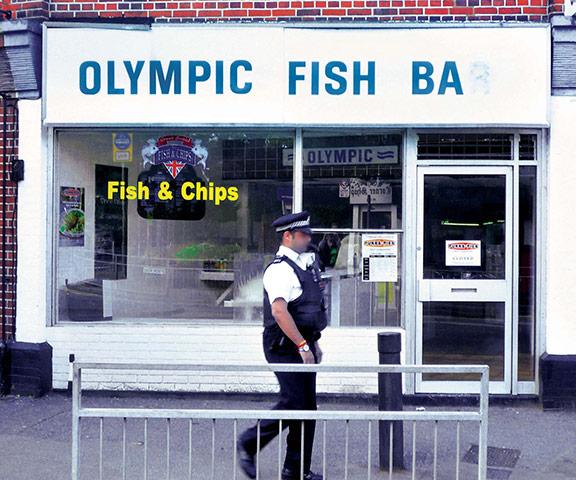 Iain Sinclair: London 2012 Olympics development project provokes Welsh psychogeographer's rage Olympic-Fish-Bar-003