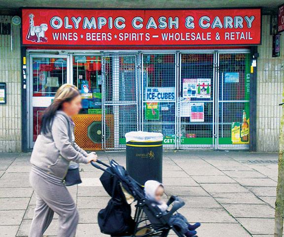 Iain Sinclair: London 2012 Olympics development project provokes Welsh psychogeographer's rage Olympic-Cash--Carry-004