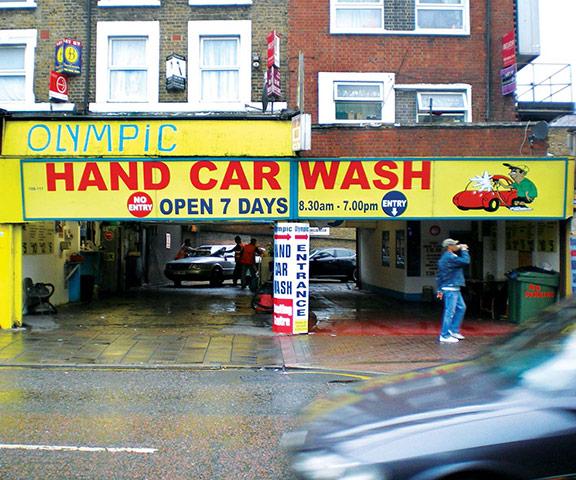 Iain Sinclair: London 2012 Olympics development project provokes Welsh psychogeographer's rage Olympic-Car-Wash-006