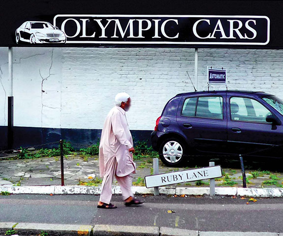 Iain Sinclair: London 2012 Olympics development project provokes Welsh psychogeographer's rage Olympic-cars.-008