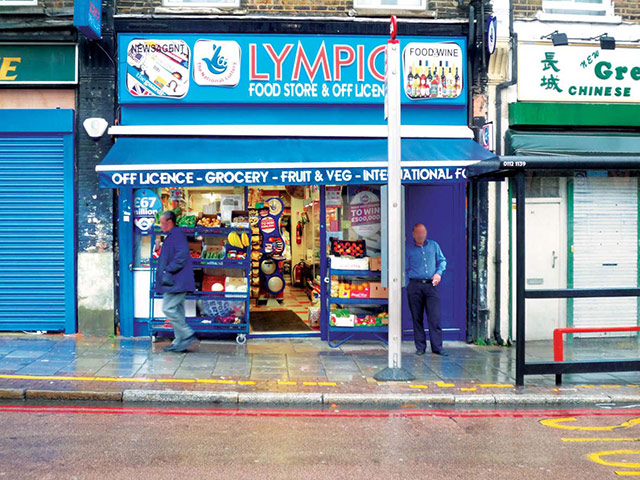 Iain Sinclair: London 2012 Olympics development project provokes Welsh psychogeographer's rage Olympic-Food-Store--Off-L-009