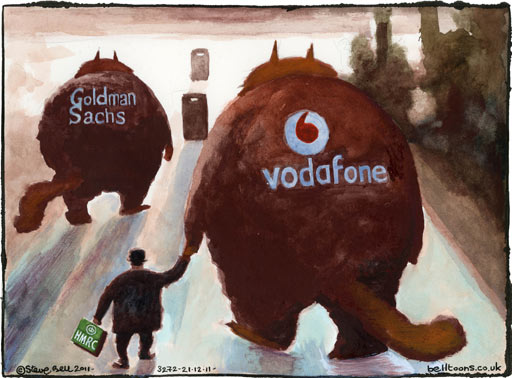 UK mobile phone charges to rise as much as 66% 20.12.11-Steve-Bell-on-sw-001