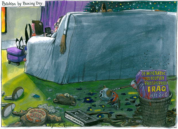 "The ""War on Terror"" Martin-Rowson-cartoon-26.-001"