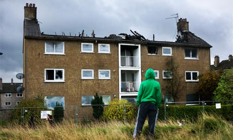 After the Royal Wedding euphoria, a timely reminder of how the other half lives Easterhouse-in-Glasgow-007