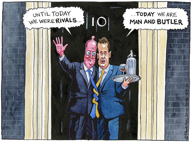 Cartoonist Steve Bell May-2010-001