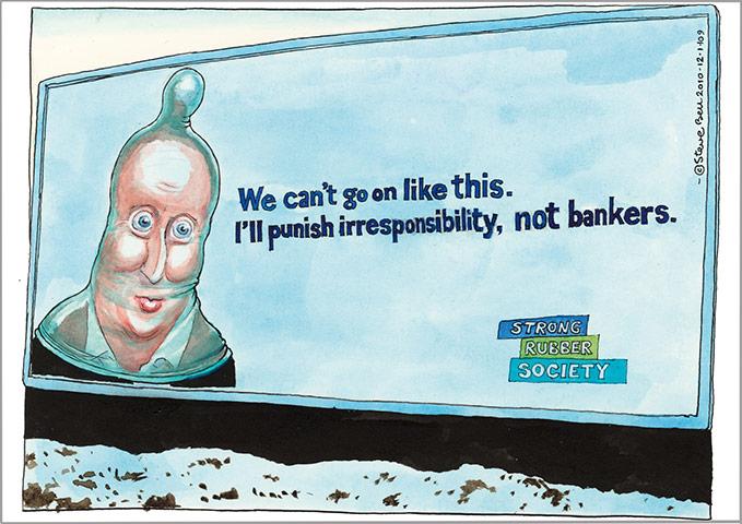 Cartoonist Steve Bell January-2010-008