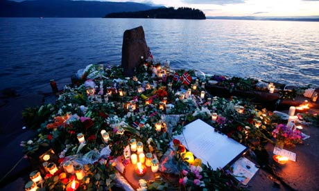 Are humans less violent than they used to be? Flowers-and-candles-at-a--007