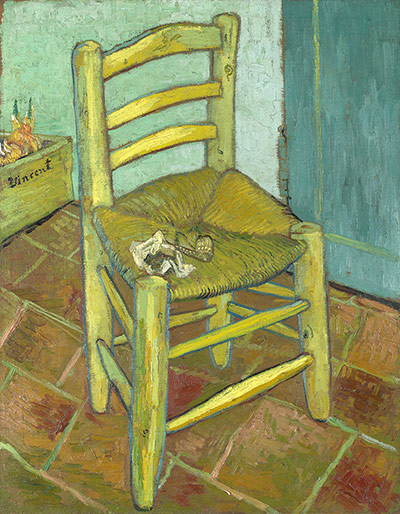 Paintings that look interesting if you're on mescalin Van-Goghs-Chair-by-Vincen-004