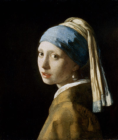 Paintings that look interesting if you're on mescalin Girl-With-A-Pearl-Earring-007