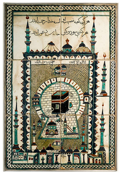 Hajj: Journey to the heart of Islam- in pictures Tile-depicting-the-sanctu-008