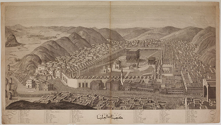Hajj: Journey to the heart of Islam- in pictures Birds-eye-view-of-Mecca--001