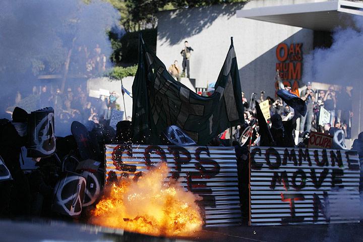 Okupacija Oakland - kako smo upali u klopku - ispovijest prosvjednika Occupy-Oakland-demonstrat-012