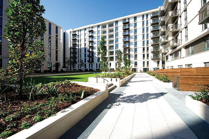 Iain Sinclair: London 2012 Olympics development project provokes Welsh psychogeographer's rage Housing-blocks-that-form--001
