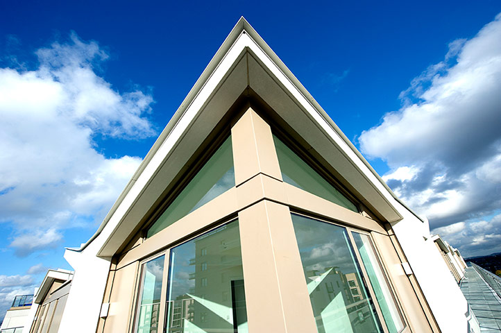 Iain Sinclair: London 2012 Olympics development project provokes Welsh psychogeographer's rage Penthouse-roof-005